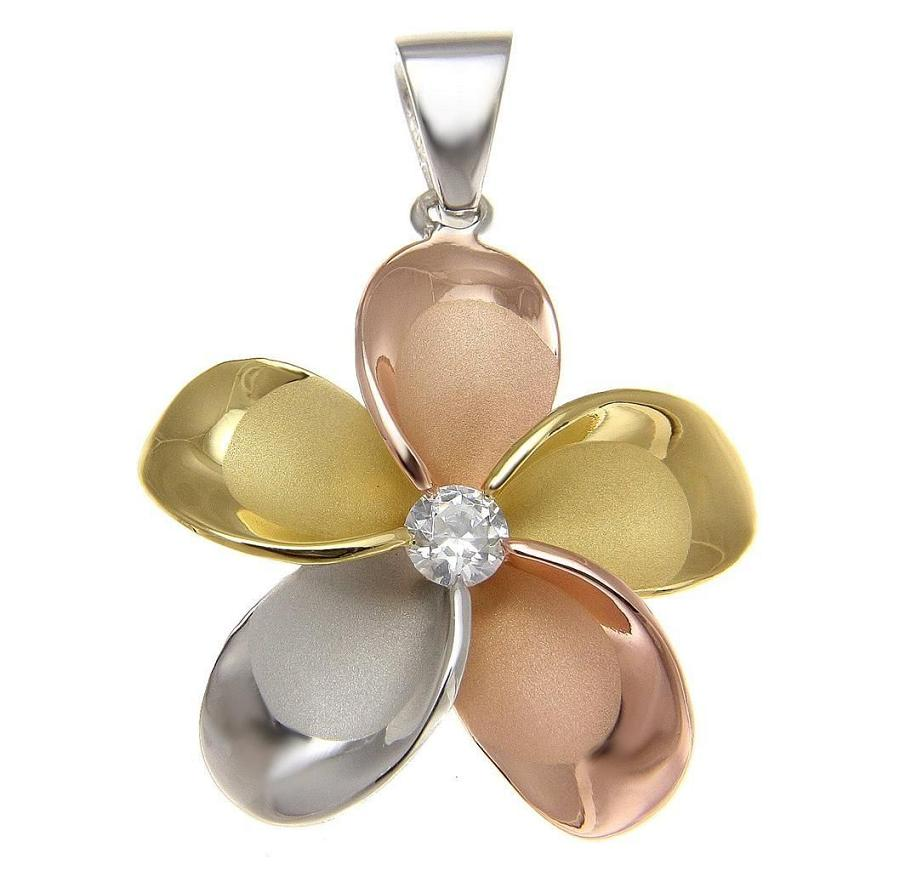 925 sterling silver plumeria flower jewelry pendants charms and gifts izmirmasajfo